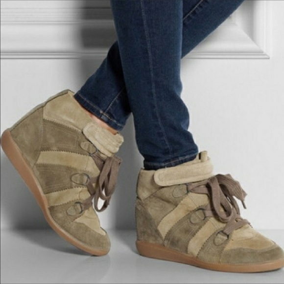 bobby wedge sneakers look a like